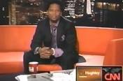 CNN - D.L. Hughley Breaks The News With Ballin' for Peace